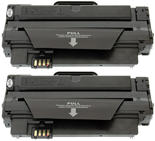TONER EXPERTE® 2 Toner kompatibel für Samsung MLT-D1052L ML-1910 ML-1915 ML-2525 ML-2525W ML-2540 ML-2545 ML-2580N SCX-4600 SCX-4600FN SCX-4623F SCX-4623FN SCX-4623FW SF-650 SF-650P (2500 Seiten)