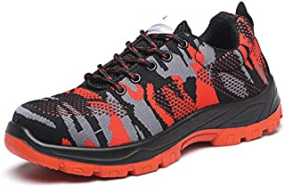 ZOZOE Soldier Walking Men Climbing Shoes Breathable Non-Slip Mountain Running Hiking Safety Sneaker