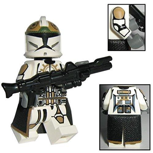 Custom Brick Design 87th Star Corps Legion Clone Trooper Figur V.1 - modifizierte Minifigur des bekannten Klemmbausteinherstellers und somit voll kompatibel zu Lego