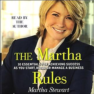 The Martha Rules audiobook cover art