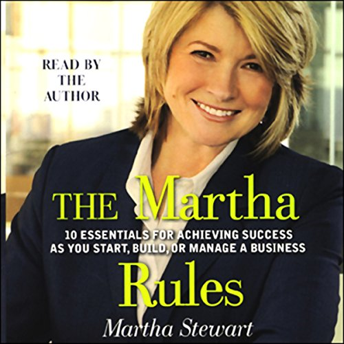 The Martha Rules audiobook cover art