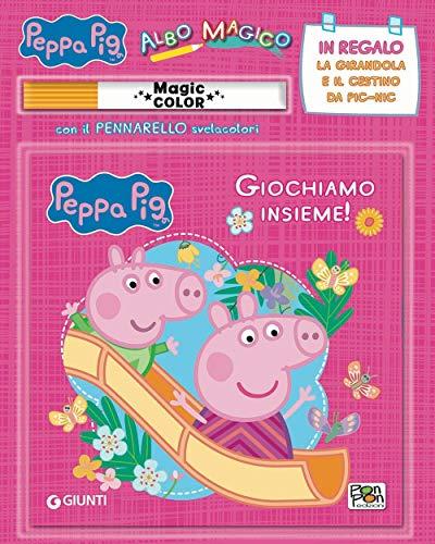 Giochiamo insieme! Albo magico. Peppa Pig. Con gadget