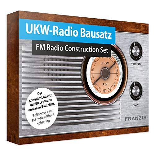 UKW-Radio Bausatz / FM Radio Construction Set: Der Komplettbausatz mit Steckplatine und allen Bauteilen. Buld your own FM radio without soldering. (Deutsch/Englisch)