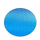 sportuli Round Swimming Pool Solar Cover,Durable Dustproof Heat Retaining Blanket Cover for In-Ground and Above-Ground Round Swimming Pools (6 Ft)