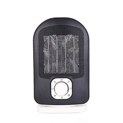 HAOSHUAI Startseite Ventilator, 1500W keramische Heizung mit 2 Heizstufen, Heizradiator Fan mit Fast Wärme, Over-Heat Umfallschutz, Zwei Windmodi, Weiss (Color : White)