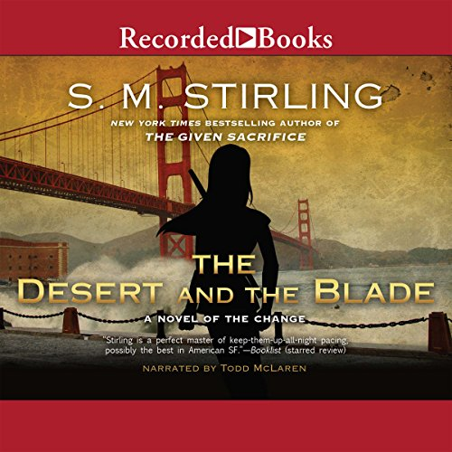 The Desert and the Blade audiobook cover art