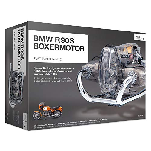 BMW R/90-S Flat Twin Airhead Engine Model Kit with...