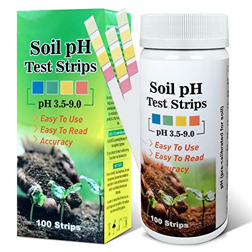 Bebapanda Soil Testing Kit, Soil pH Test Kit, 100PCS Soil Test Strips, Soil...