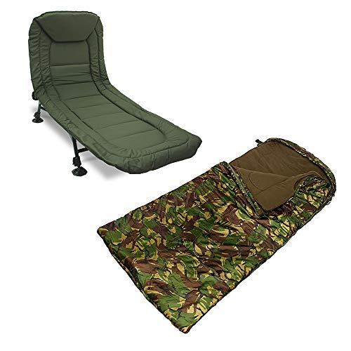 G8DS Anglerset, Bedchair + Schlafsack, Angeln, Outdoor, Freizeit