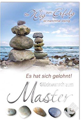 Karte zum Master