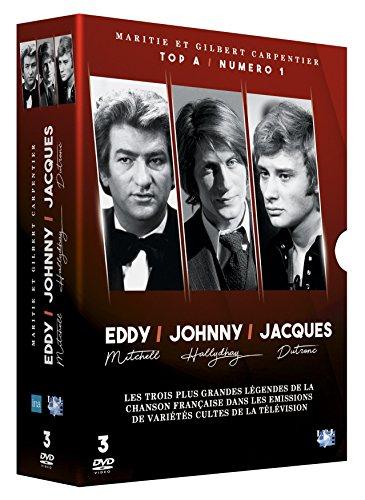 Johnny Hallyday / Eddy Mitchel / Jacques Dutronc - 3 Films - Coffret DVD