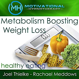 Couverture de Metabolism Boosting Weight Loss and Healthy Eating Habits - Hypnosis, Meditation and Music