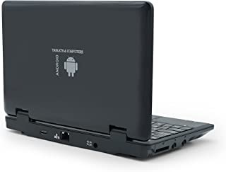 """Portable Laptop Computer, 7"""" Inch Mini Laptop Powered by Android 5.1.1 OS, Quad Core, 8gb ROM, HDMI, WiFi- Black"""