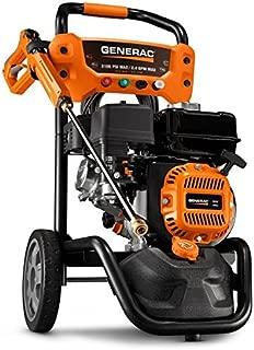 Generac 7019 OneWash 3,100 PSI, 2.4 GPM, Gas Powered Pressure Washer and PowerDial Gun