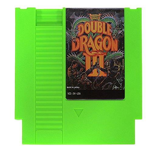 Bargain World double Dragon III: The Sacred Stones 72pin 8Bit gioco della cartuccia per NES Nintendo