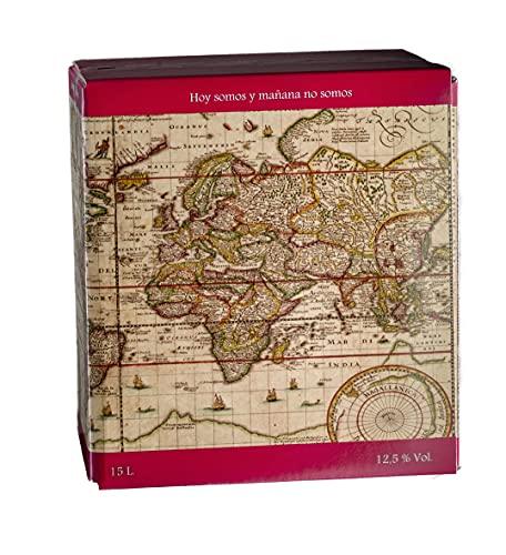 VINO TINTO BAG IN BOX 5L, tempranillo, con grifo, desde La Rioja, bodega familiar