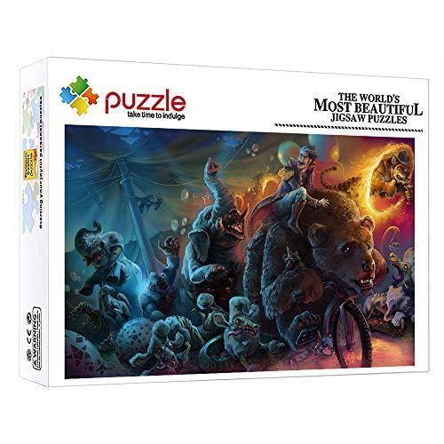 1000 Piece Jigsaw Puzzle Cuento De Hadas De Fantasía Animal 1000 Piezas 1000 Piezas Foto Puzzle Para Adultos Niño Niña Educativos Juegos Para Regalo De Acción De Gracias De Navidad 15 X 10 Pulgada