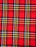 Maasai Shuka AFRIKA ETHNO Überwurf Aus Baumwolle, Für