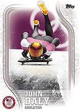 John Daly trading card (USA Olympics, Skeleton) 2018 Topps #US34