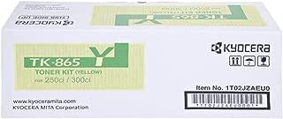 Kyocera Toner Kit - Tk-865y, Yellow