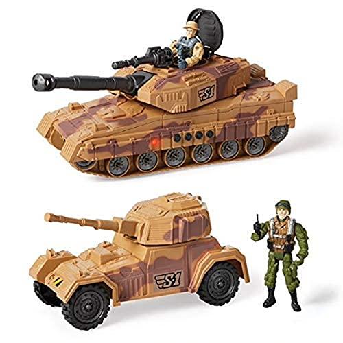 True Heroes Dual Military Set - Tank