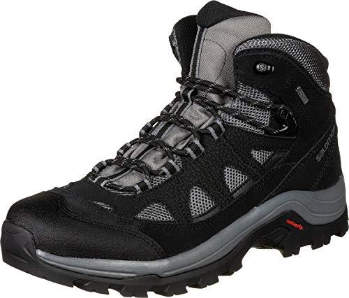 Salomon Authentic Gore-Tex (impermeable) Hombre Zapatos de trekking, Gris...