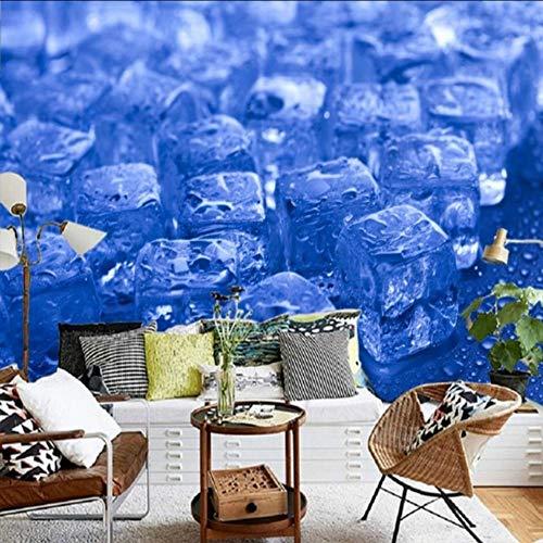 Wuyii fotobehang, personaliseerbaar, Aromatic Hd Sommer Frozen tv-achtergrond muurschilderij, restaurant Negozio Freddo wallpaper 200 x 140 cm