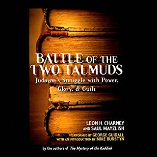Battle of the Two Talmuds audiobook cover art