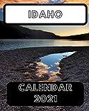 Idaho Calendar 2021