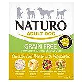 Naturo Grain Free Chicken Potato Dog Food 400G