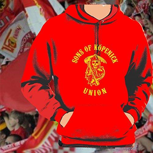 World of Football T-Shirt sons of K/öpenick Union rot