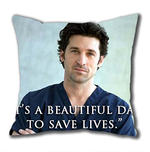 iCustomonline Grey's Anatomy Standard Size Design Square Pillowcase in 40*40CM/16*16Inch