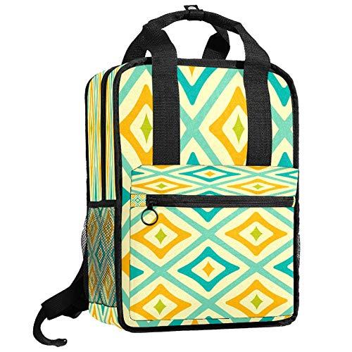 Backpacks Shoulders Bag geometry pattern Backpack traveling middle school high school