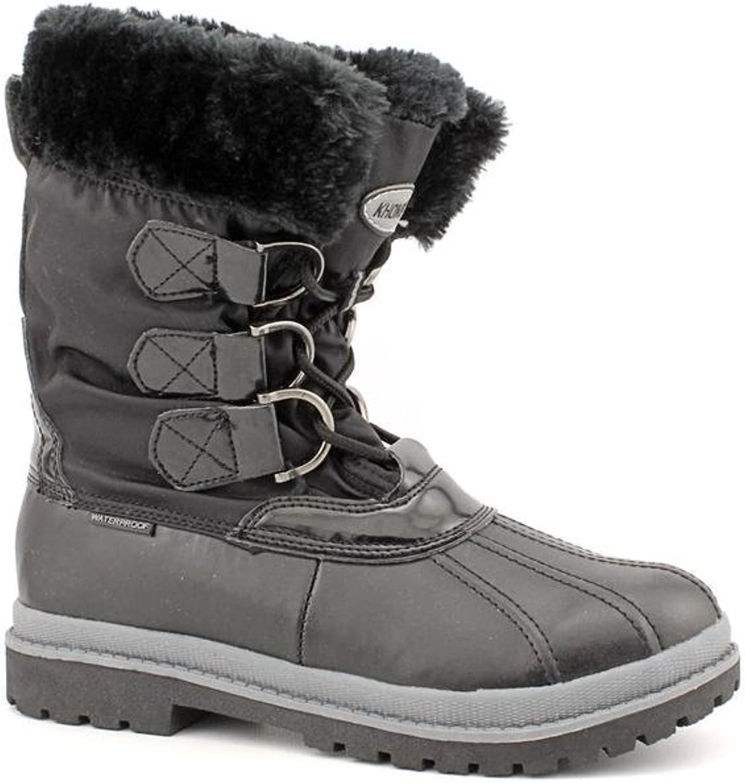 Khombu Birch Low Winter Boot - Black, 6 M US