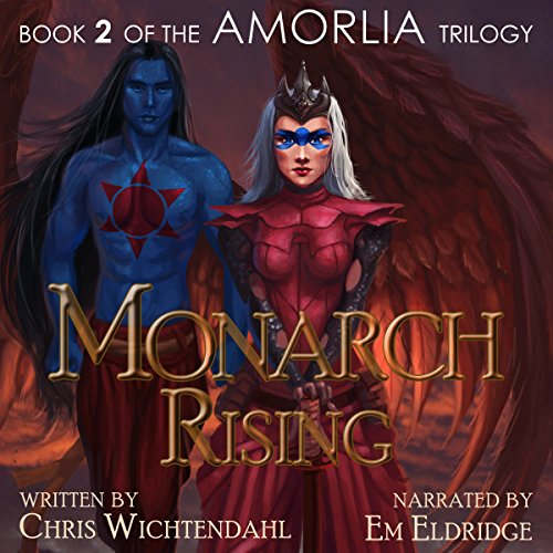 Monarch Rising audiobook cover art