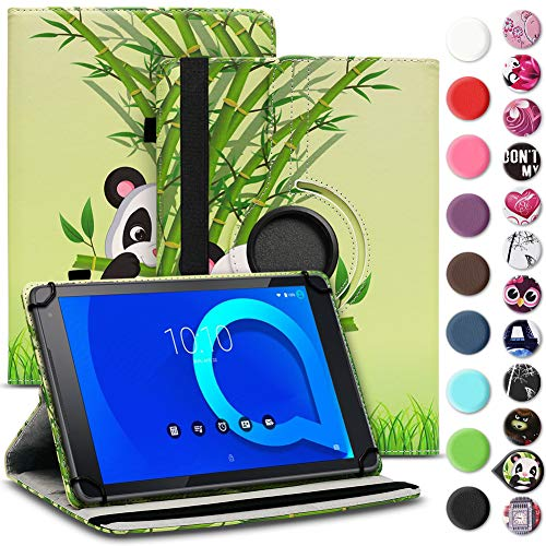 Tablet Hülle kompatibel für Alcatel 1T 10 Tasche Schutzhülle Case Schutz Cover 360° Drehbar 10.1 Zoll Etui, Farbe:Motiv 11
