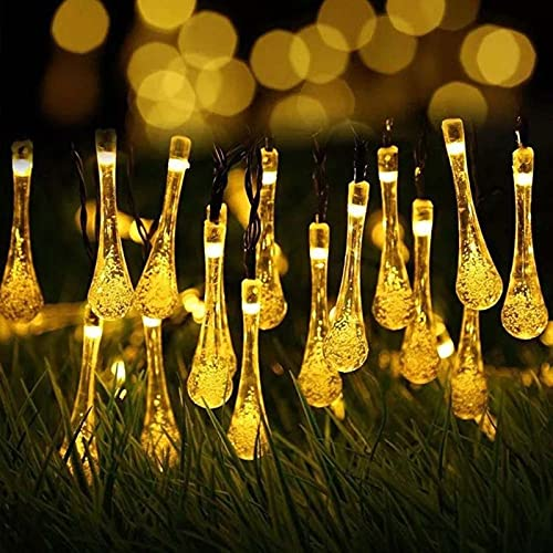 TAIZONG Luces Solares para Exterior Jardin, Luz Led, 8 Modos de Guirnaldas Luces Exterior Solar, Para Jardín, Fiestas, Luz Solar Exterior, Decoración Navideña(Multicolor)