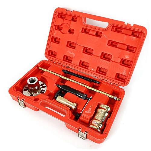 SENDERPICK Extractor de bujes hidráulico 10T, 3 en 1, Juego de Herramientas para el Montaje de rodamientos