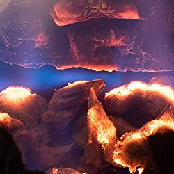 small Natural glowing coal for gas fireplaces Gas coal made of mineral wool to increase gas concentration …
