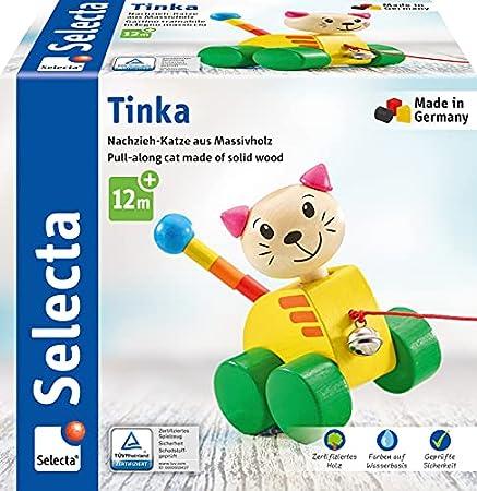 Selecta Nachziehspielzeug Katze Tinka aus Holz