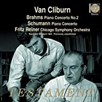 Brahms/Schumann: Piano Concertos by Van Cliburn (2011-02-08)