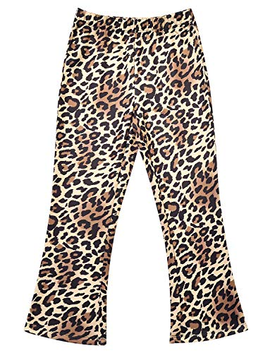 Perfashion Girls Boot-Cut Trousers Back to School Pants Elastic Waist Pull-On Pant 10t 11t