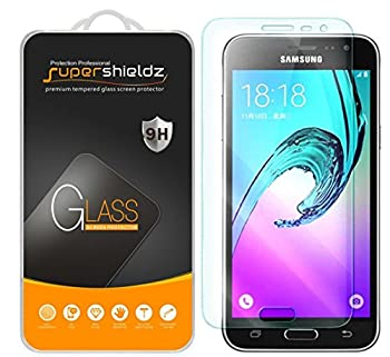 3 Pack  Supershieldz Designed for Samsung Galaxy J36V and Galaxy J3 Nova Tempered Glass Screen Protector Anti Scratch Bubble Free