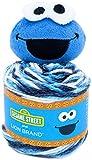 Lion Brand Yarn Sesame Street One Hat Wonder yarn, Size, Cookie Monster