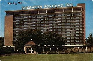 Sheraton-Foxhead Inn Niagara Falls, Ontario Canada Original Vintage Postcard