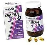 Omega 3 6 9 60 cápsulas de Health Aid