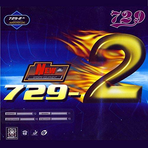 Friendship New 729–2schütt Tenis de Mesa, rojo, 1.8