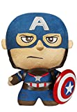 It's a plush. It's a figure. It's Funko's Fabrikations! Get your very own version of Captain America as a figural plush that can stand up! This Avengers: Age of Ultron Captain America Fabrikations Plush Figure features the First Avenger as a 6-inch t...