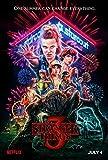 Stranger Things 3 Poster - Mattes Poster Frameless Gift 11