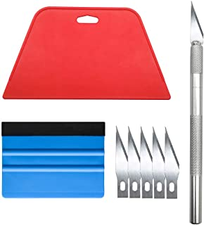 Wallpaper Smoothing Tool Kit for Adhesive Contact Paper Application Window Film Craft Vinyl